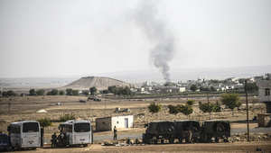 مصدر داخل عين العرب لـCNN: داعش تدخل شرق هضبة مشته نور الاستراتيجية