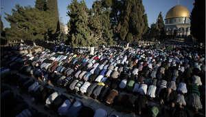 الصلاة في المسجد الأقصى أحد المساجد الثلاثة المقدسة عند المسلمين