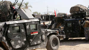 جنود عراقيون قادمون من سامراء