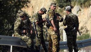 جنود من الجيش الجزائري في عمليات بحث في منطقة جنوب تيزي أوزو، 10 أكتوبر/ تشرين الأول 2014