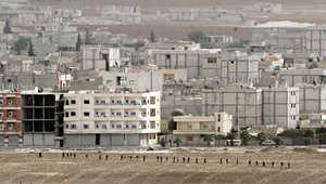 المرصد: المقاتلون الأكراد يتقدمون شمال شرق المربع الحكومي الأمني في كوباني