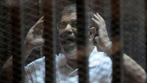 مرسي بقضية التخابر ينفي تحويل أموال لغزة.. لا يمكن تحويل أموال مباشرة إلا عن طريق إسرائيل