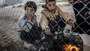 """هل ستفلح  لوحة """"ملائكة سوريا"""" بلفت نظر العالم لمأساة الأطفال السوريين؟ بعيداً عن الاستخدام السياسي"""