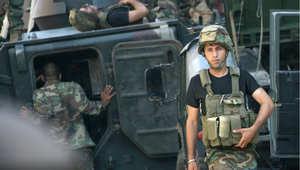 جنود لبنانيون في طرابلس 24 أكتوبر 2014