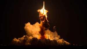 انفجار الصاروخ الذي اطلقته ناسا 28 أكتوبر/ تشرين الأول 2014
