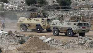 قوات مصرية في رفح
