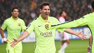 برشلونة يهزم أياكس أمستردام وميسي يعادل أهداف راؤول الـ71 بأبطال أوروبا