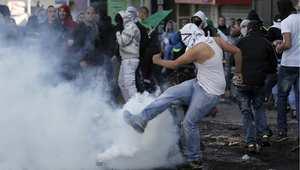 مواجهات بين الفلسطينيين وقوات الأمن الإسرائيلية في القدس الشرقية 7 نوفمبر/ تشرين الثاني 2014