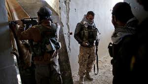 مقاتلون من قوات حماية الشعب الكردي في كوباني