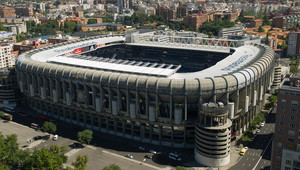 ملعب سانتياغو برنابيو ريال مدريد
