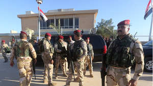 أرشيف- جنود عراقيون في قاعدة الاسد الجوية في محافظة الأنبار 11 نوفمبر/ تشرين الثاني 2014