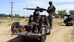 دورية للجيش الكاميروني في شمال البلاد بعد هجوم شنته جماعة بوكو حرام النيجيرية على المنطقة وقتلت 8 جنود 15 أكتوبر/ تشرين الأول 2014