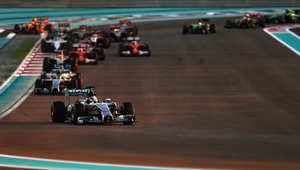 لويس هاملتون يفوز بجائزة أبوظبي الكبرى لسباقات الفورميلا وان