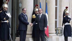 بالصور.. زيارة السيسي إلى فرنسا