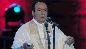 الفنان السوري صباح فخري في مهرجان قرطاج الدولي السادس والأربعين، على المسرح الروماني ، تونس 27 يوليو/ تموز 2010
