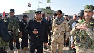 """قوات حكومية عراقية في عملية عسكرية ذد تنظيم """"داعش"""" 26 نوفمبر/ تشرين الثاني 2014"""