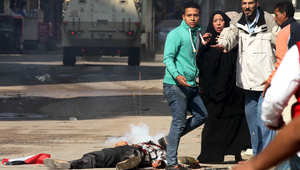 """بالصور.. اشتباكات بين أنصار مرسي وقوات الأمن في جمعة """"انتفاضة الشباب المسلم"""""""