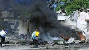 تفجير قرب مطار مقديشو 3 ديسمبر 2014
