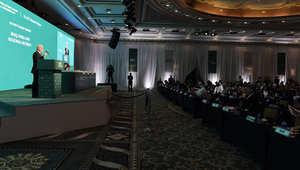 منتدى حوار المنامة الذي نظمه المعهد الدولي للدراسات الاستراتيجية في العاصمة البحرينية في السادس من ديسمبر