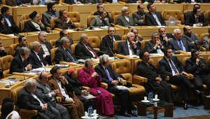 جانب من الحضور في مؤتمر مكافحة الإرهاب والتطرف الذي عقد في العاصمة الإيرانية طهران على مدى يومين 9 ديسمبر/ كانون الأول 2014