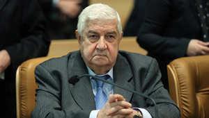 وزير الخارجية السوري وليد المعلم خلال حضورة مؤتمر لمكافحة الإرهاب عقد في طهران بمشاركة وفود من 40 دولة، 9 ديسمبر/ كانون الأول 2014