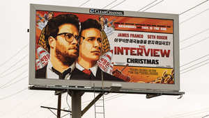 """بعد التهديدات.. سوني تستجمع شجاعتها وتعلن إطلاق فيلم """"المقابلة"""" الذي يصور محاولة اغتيال زعيم كوريا الشمالية"""