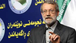 رئيس البرلمان الإيراني علي لاريجاني