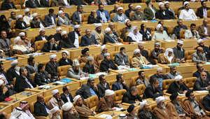جانب من الحضور في مؤتمر الوحدة الإسلامية بطهران 7 يناير/ كانون الثاني 2015