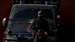 شرطي اسباني