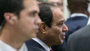 الرئيس المصري عبد الفتاح السيسي يحضر مؤتمر القمة العالمية لطاقة المستقبل في أبوظبي
