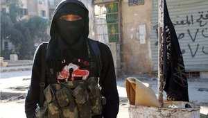 مقاتل من جبهة النصرة، حلب 11 يناير/ كانون الثاني 2014