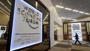 مركز المؤتمرات في دافوس عشية المنتدى الاقتصادي العالمي