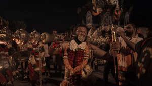"""ناسك ماليزي يحتفل بمهرجان """"تايبوسام"""""""