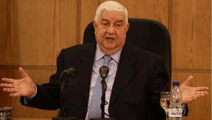 وزير الخارجية وشؤون المغتربين السوري وليد المعلم