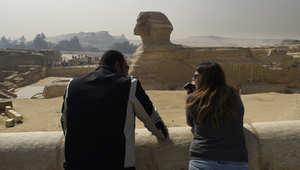 الأهرامات في الجيزة، جنوب القاهرة