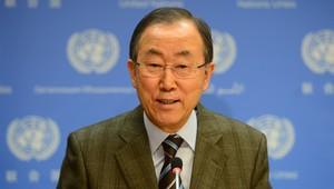 الأمين العالم للأمم المتحدة، بان كي مون