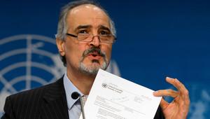 مندوب سوريا لدى الأمم المتحدة، بشار الجعفري
