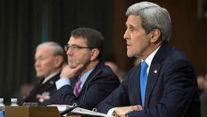 أمريكا.. وزيرا الدفاع والخارجية ورئيس أركان الجيش أمام النواب لدعم طلب أوباما التفويض لاستخدام القوة في التصدي لداعش