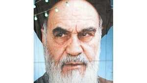 الخميني مؤسس الجمهورية الإسلامية الإيرانية