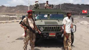 مجموعة من مقاتلي اللجان الشعبية الموالية للرئيس اليمني عبدربه منصور هادي، عدن 16 مارس/ آذار 2015