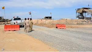 قوات تابعة للحكومة العراقي في قرية العوجة بضواحي تكريت 160 كيلومتر شمال بغداد، 18 مارس/ آذار 2015