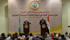 """وزراء الخارجية العرب يباركون """"عاصفة الحزم"""" ويوافقون على مشروع قرار بإنشاء قوة عسكرية عربية مشتركة"""