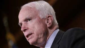 عضو مجلس الشيوخ الأمريكي جون ماكين