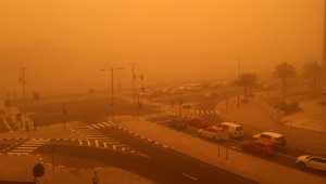 دبي في العاصفة