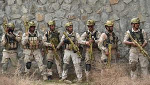 جنود أفغانيون
