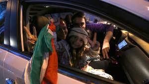 بالصور.. احتفالات الإيرانيين بالاتفاق المبدئي بالملف النووي بين طهران والغرب