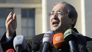 المقداد: مناقشة جنيف1 بالترتيب وإردوغان ليس من المجتمع الدولي