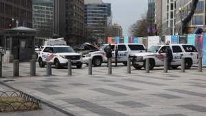 سيارات شرطة في واشنطن