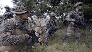 أرشيف - قوات أمريكية خاصة خلال تمرين عسركي في فرنسا