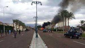 الثورة لتفجير استهدف سياح في منتجع طابا جنوب سيناء 16 فبراير/ شباط 2014